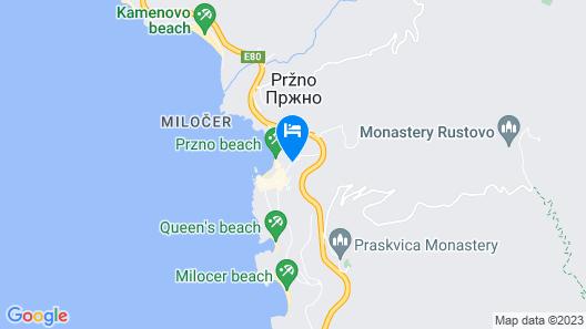 Maestral Resort & Casino Map