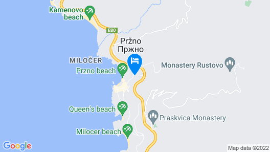 Guest House Przno Bay Map