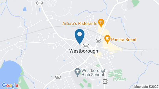 Westborough Inn Map