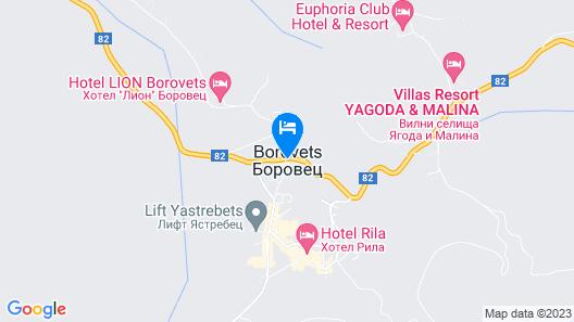 Yagoda & Malina Villas Map