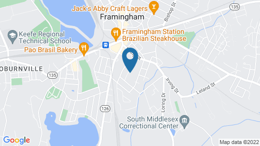 Bedroom office free parking laundry wifi Map