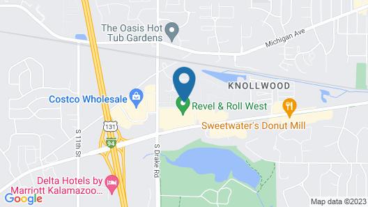 Staybridge Suites Kalamazoo Map