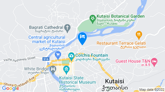 Gala Boutique Hotel Map