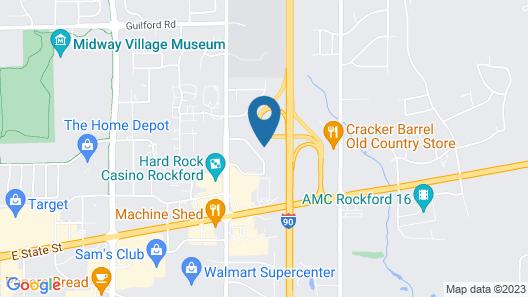 Sleep Inn Rockford I-90 Map