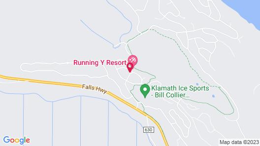 Running Y Ranch Resort Map