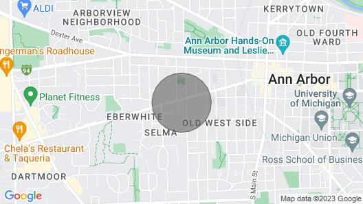 Quiet Neighborhood 3 Blocks From Main Street Map
