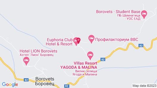 Euphoria Club Hotel & Resort Map