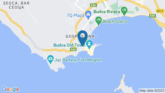 Avala Resort & Villas Map