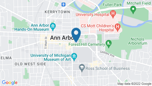 Bell Tower Hotel Map