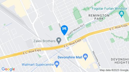 Ivy Rose Motor Inn Map