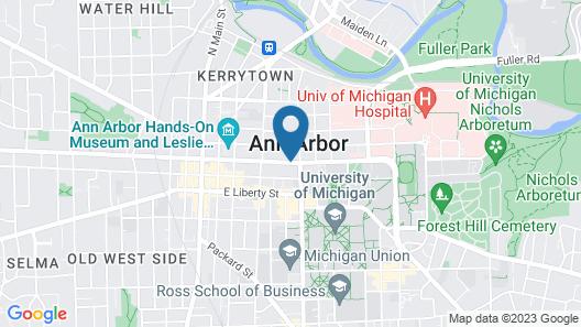Graduate Ann Arbor Map