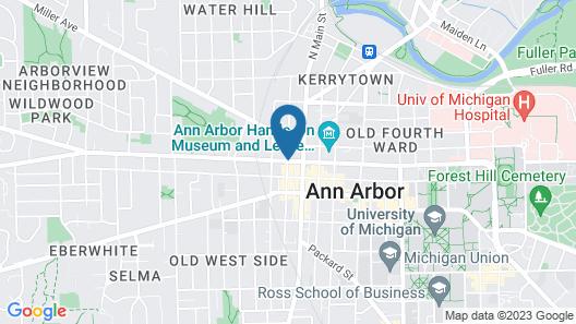 Residence Inn Ann Arbor Downtown Map