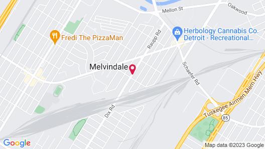 Red Roof Inn & Suites Detroit-Melvindale/Dearborn Map