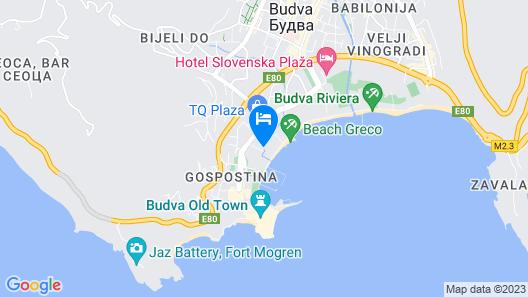 Fontana Hotel & Gastronomy Map