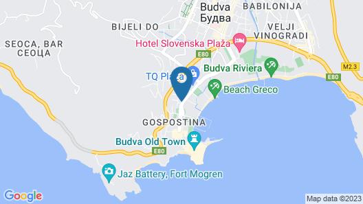 ROYAL GARDENS Apartments Map