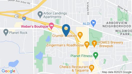 Wyndham Garden Ann Arbor Map