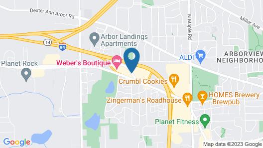 Weber's Hotel & Restaurant Map