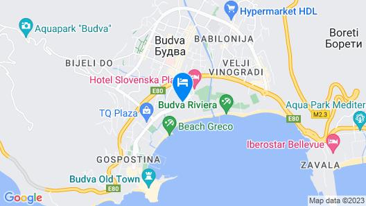 Hotel Bracera Map