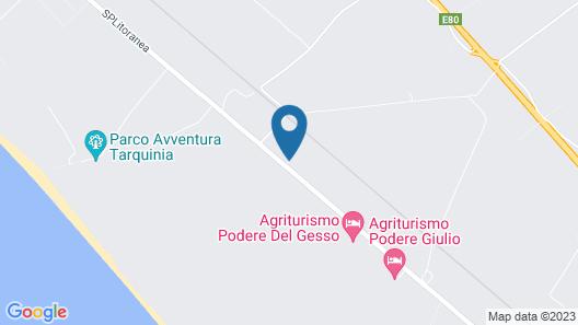 Podere Del Gesso Map
