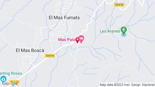 Mas Palou Map