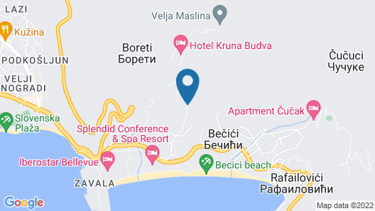 Montelux Apartments Map