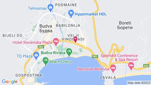 Iberostar Slavija Map