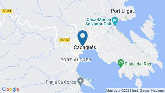 Hostal Marina Cadaqués Map