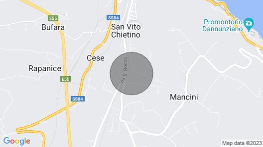 Village of Gualdo San Vito Chietino Map