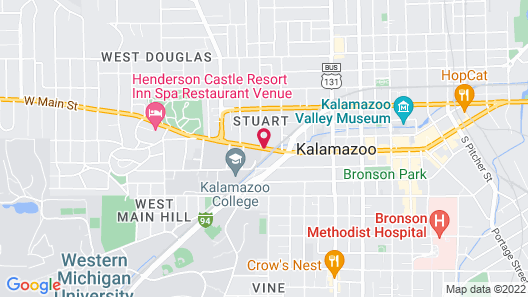 Kara's Kottages @ W. Main St Map