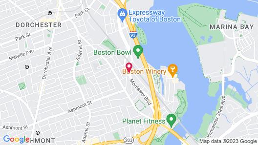 Comfort Inn Boston Map