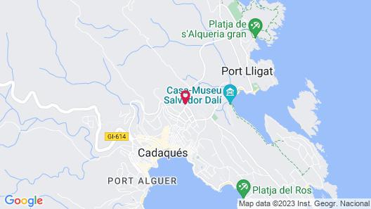 Carpe Diem Cadaqués Map