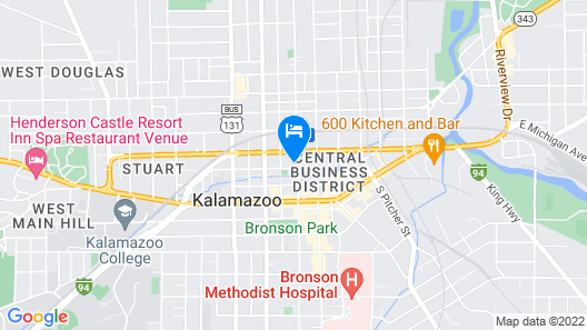 Home2 Suites by Hilton Kalamazoo Downtown Map