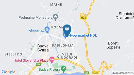 Sofija Apartment Map