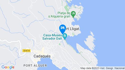 Hotel Calina Map