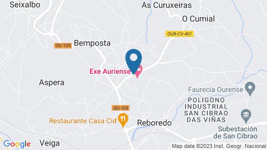 Eurostars Auriense Map