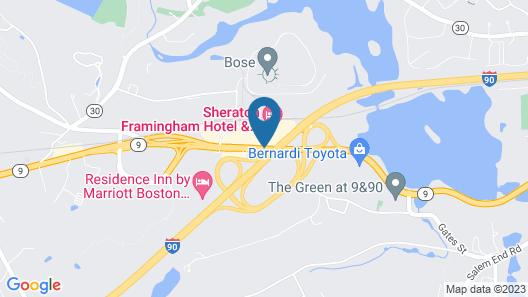 Sheraton Framingham Hotel & Conference Center Map