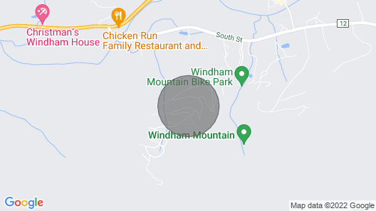 On the Mountain in Windham, New York in the Catskills Map