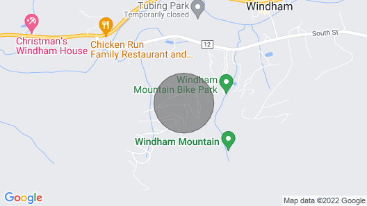 ON Mountain! Steps From Slopes! Welcome to our Windham Mountain Escape! Map