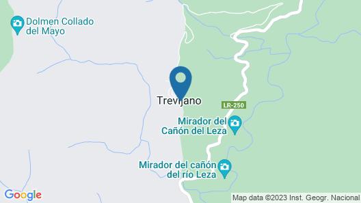 Casa Rural Cañon del Río Leza Map
