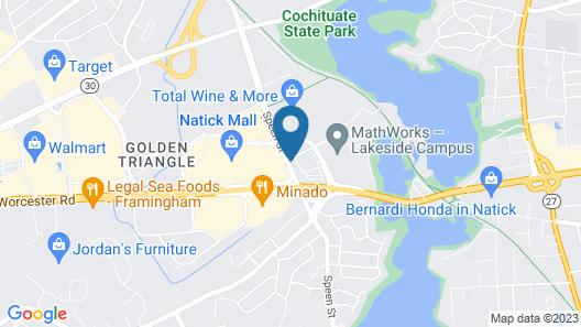 Residence Inn by Marriott Boston Natick Map