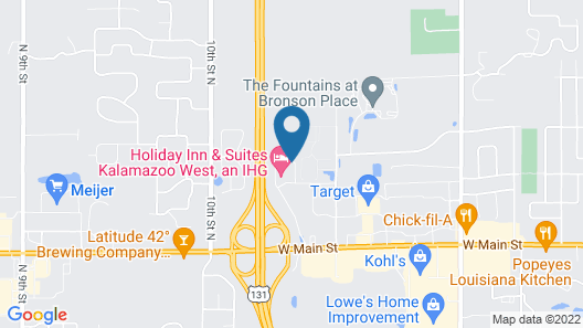Holiday Inn Express and Suites Kalamazoo West Map