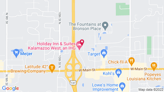 Holiday Inn Express and Suites Kalamazoo West, an IHG Hotel Map