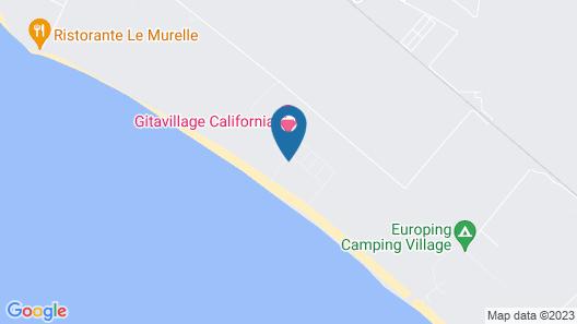 California Camping Village Map