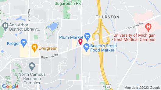 Residence Inn by Marriott Ann Arbor North Map