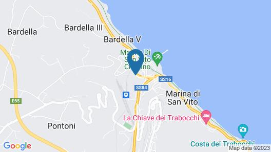 Villaggio Camping Costa d'Argento Map