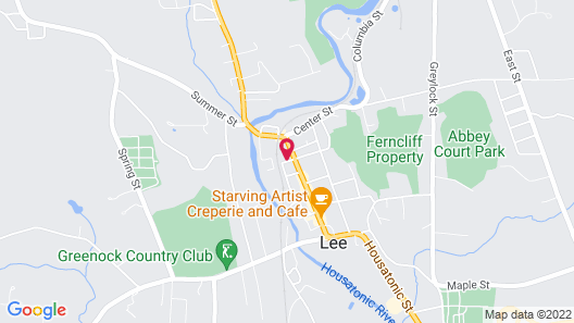 Chambery Inn Map