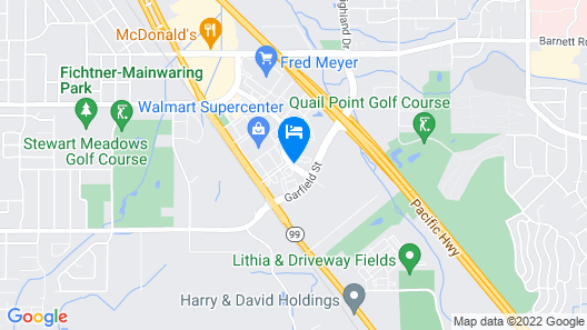 Holiday Inn Express & Suites Medford, an IHG Hotel Map