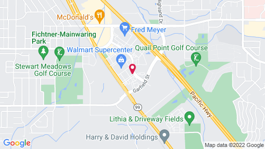 SpringHill Suites by Marriott Medford Map