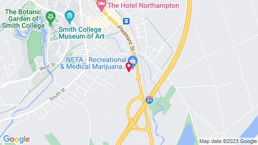 Fairfield Inn & Suites Springfield Northampton/Amherst Map