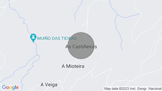 Rural apartment Caserío da Castiñeira for 4 people Map
